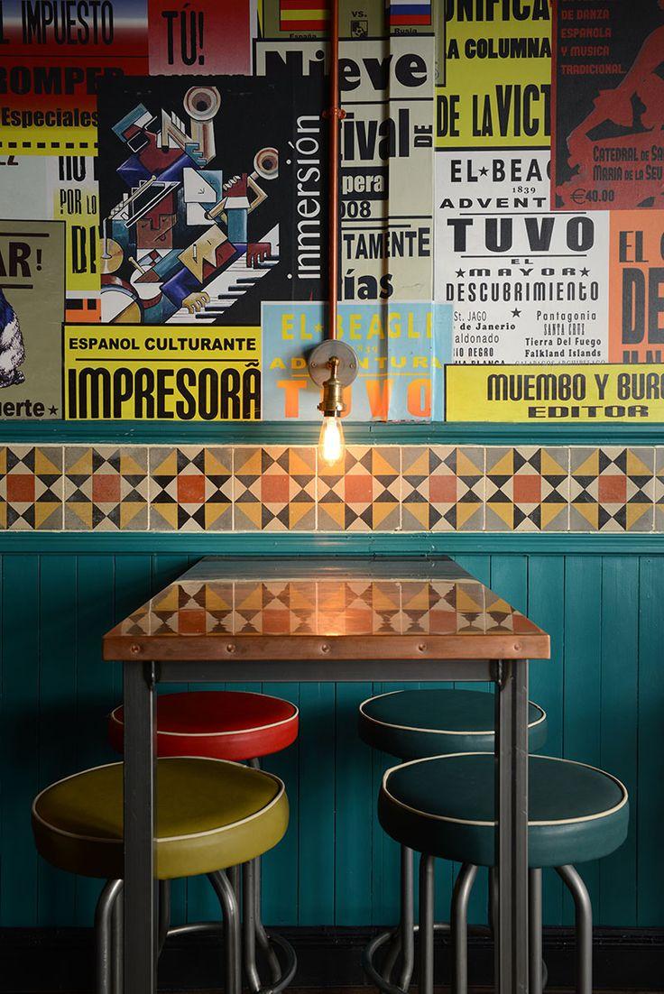 La Tasca, Covent Garden - Focus Design. Restaurant Design