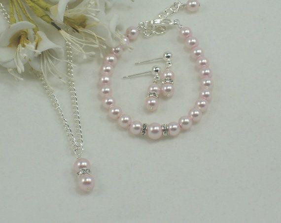 Flower Girl Jewelry  Baby Jewelry Swarovski 12 by callalilyjewels, $22.00