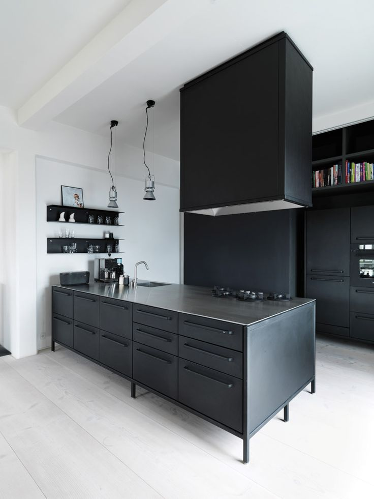 Vipp Kitchen | Copenhagen Apartment Morten Bo Jensen | © Anders Hviid Haglund | Est Magazine