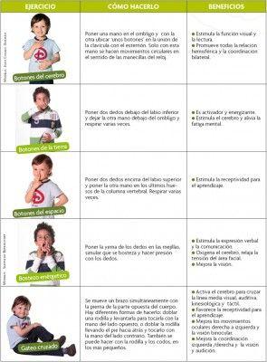 GIMNASIA CEREBRAL. 10 Ejercicios para realizar junto a sus hijos (1)