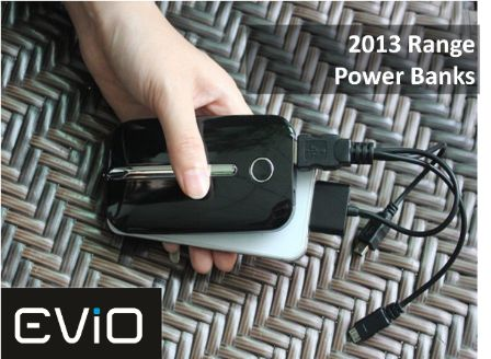 Meet the EViO Power Bank Family