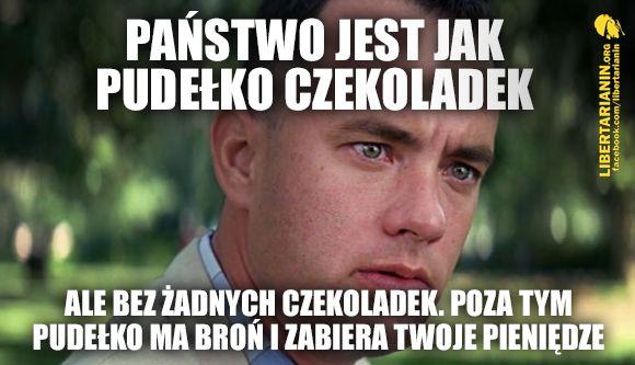 #forrest #gump #tom #hanks #film #hollywood #panstwo #terroryzm #terorysta #pudelko #czekoladek #bomby #bron #kradziez #zlodziej #podatki