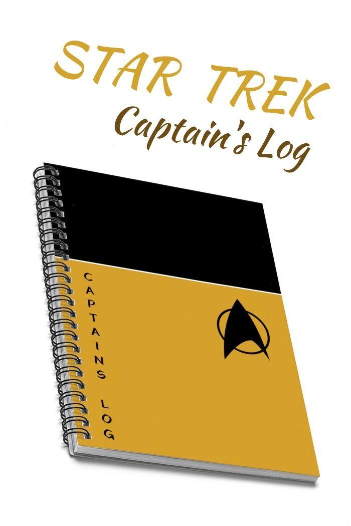 Star Trek Uniform Spiral Notebook The Perfect Geek Gift For Etsy Star Trek Gifts Star Trek Decor Star Trek