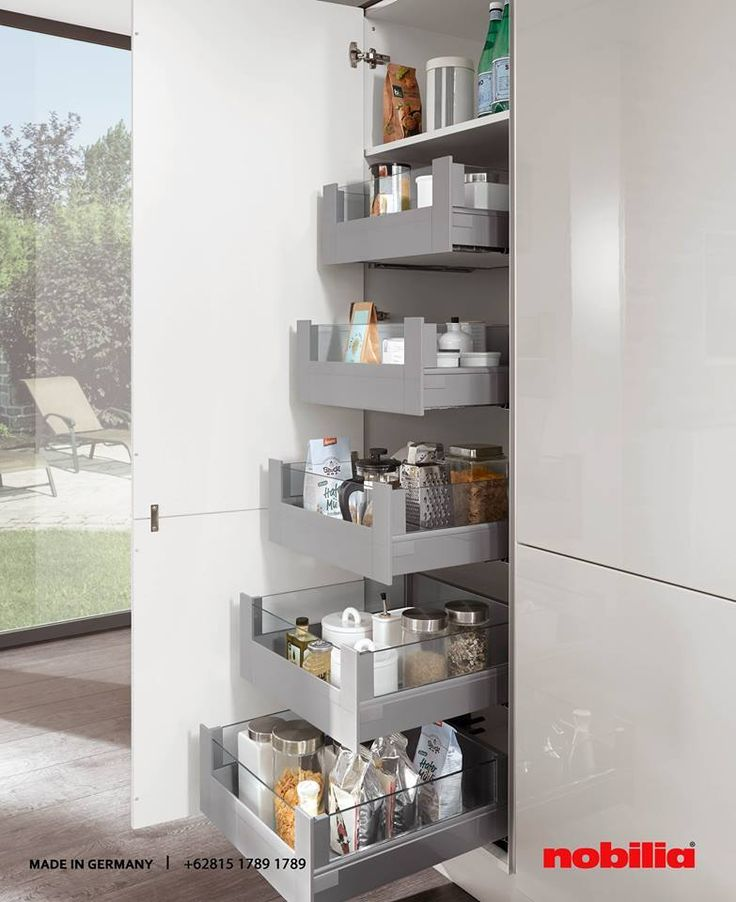 Marvelous Nobilia Kitchen Tall units are real storage wonders Convenient fittings easy access and equipped with sophisticated sturdy mechanics as well as clever