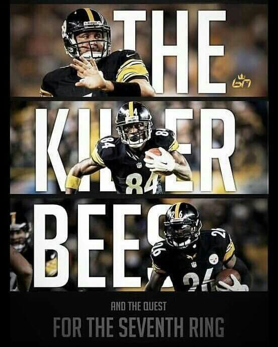 "The Killer Bees: Le'Veon Bell, Antonio Brown & ""Big Ben"" Roethlisberger"