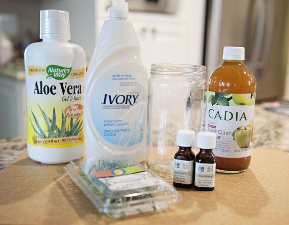 How To Make Your Own Natural Shampoo