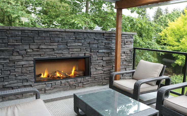 Valor Fireplace for Outdoors