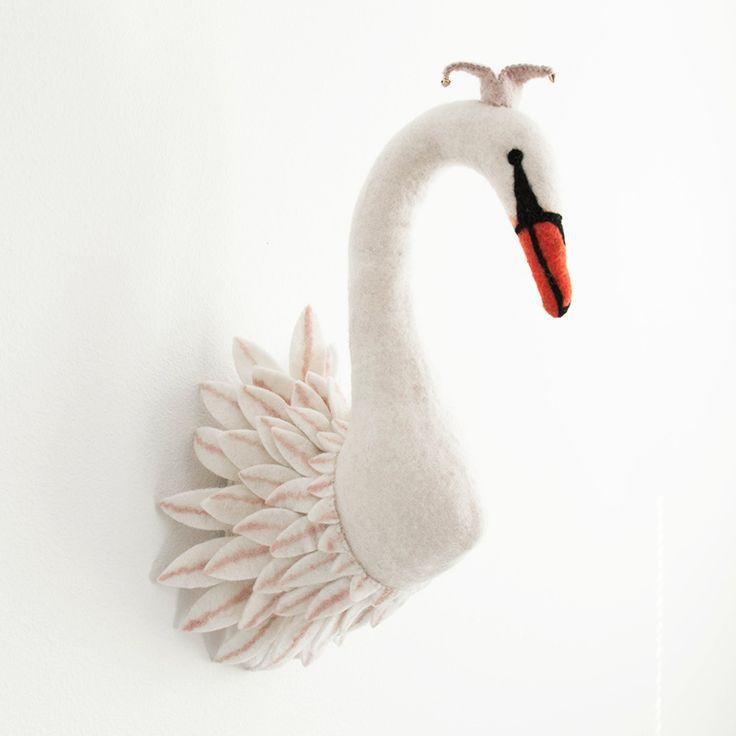 Shopminikin Sew Heart Felt Odette Swan Animal Head Http