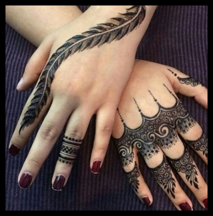 75 Beautiful Mehndi Designs Henna Hand Art: Pinterest: @Nessah_xoxxo