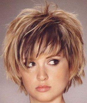 Choppy Layered Hairstyles | Choppy Layered Graduated Hair Cuts Heavy on Short Bob Harstyles Short ...
