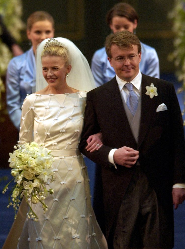 Late Dutch Prince Johan Friso Second Son Of Queen Beatrix And Mabel Wisse Smit Enter The Church Before Exchanging Wedding Vows At Oude Kerk