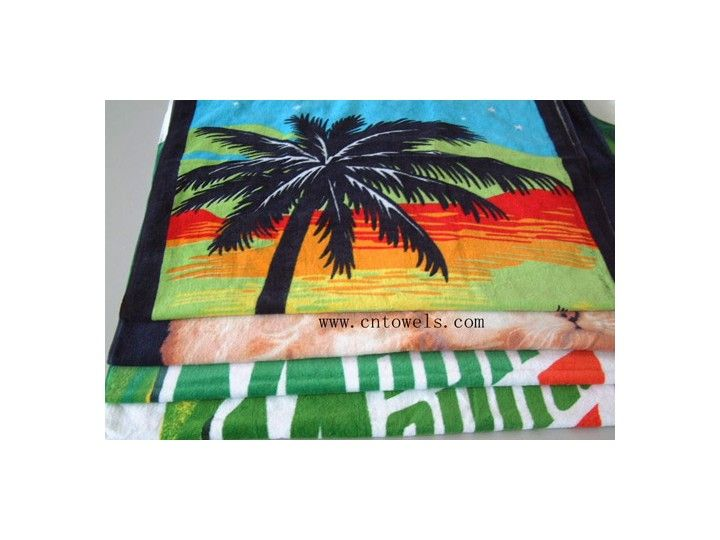 ChangZhou YiLaiBaoDe Textile Co., Ltd is a professional promotional products supplier in china, established in 2002, our factory equipped with 5 advanced automatically magnetic bar screen production lines, our products include 1):100% cotton fiber reactive printed beach towel/bath towel/promotional towel/advertising towel/sports towel/rally towel/giveaway towel;2)Microfiber heat transfer printed beach towel/bath towel/face towel/cleaning towel;