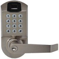 Biometric Fingerprint Keypad Door Lock X7 from Scyan Electronics