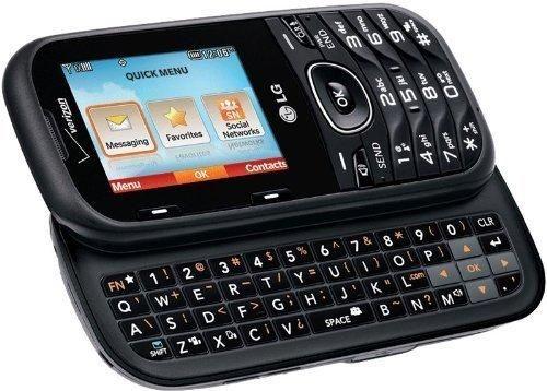 LG VN251 VN 251 COSMOS 2 Verizon Wireless Slider Keyboard Bluetooth Cell Phone