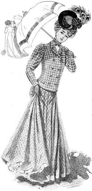 Vintage Victorian: Fashion 1905-1906