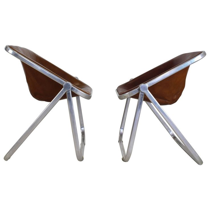 Plona Foldable Chairs By Giancarlo Piretti For Castelli