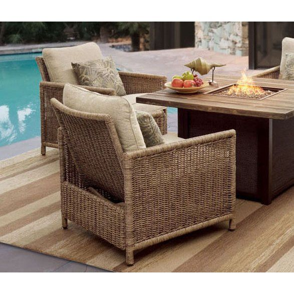 Wicker Outdoor Rocking Patio Chair, Patio Furniture Salt Lake City