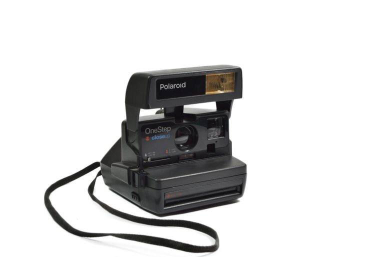 Polaroid Camera OneStep closeUp: Working Tested Vintage Polaroid 600 Land Camera Polaroid Instagram Selfie Photo Party Frame Gift Ideas