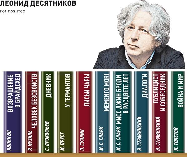 Десять любимых книг композитора Леонида Десятникова