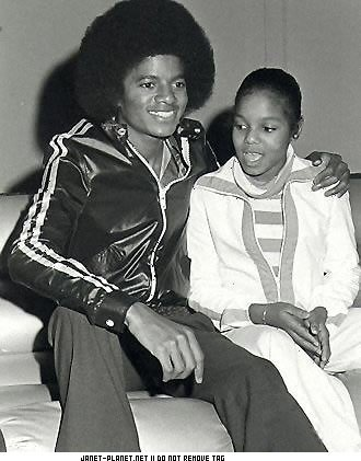 Michael and Janet Jackson