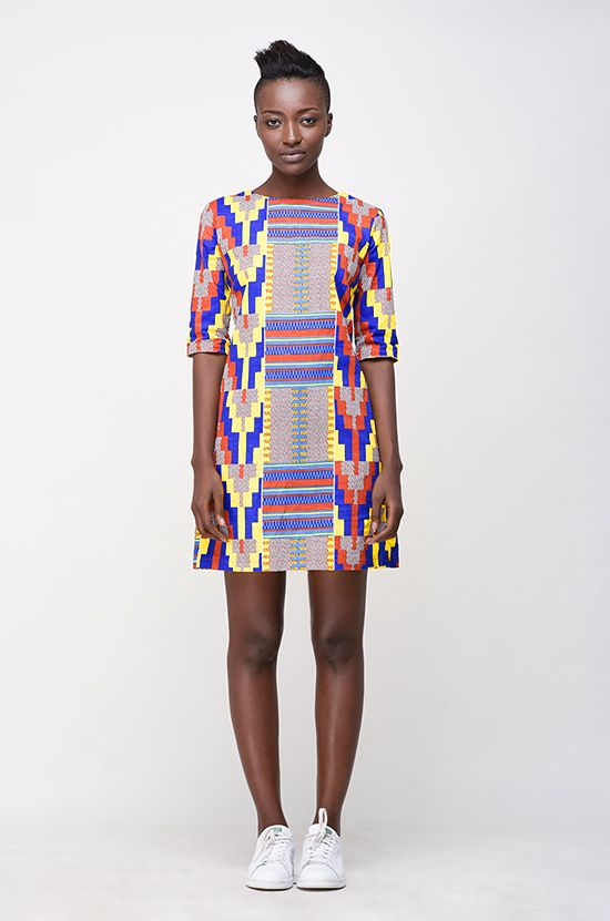 Image of Muto Mini in Kente Wax Print
