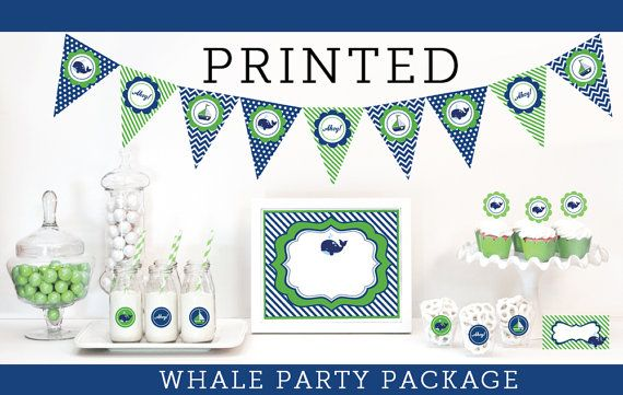 whale baby shower banner whale baby shower theme nautical whale