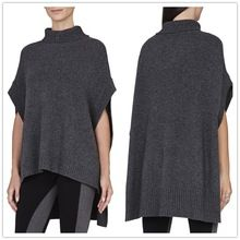 2015 spring autumn turtleneck oversized boxy woman sweater pullover with high-low hemline Best Seller follow this link http://shopingayo.space