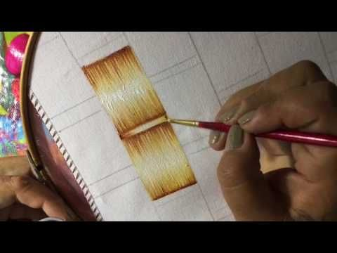 Pintura En Tela Cocinera # 1 Con Cony - YouTube