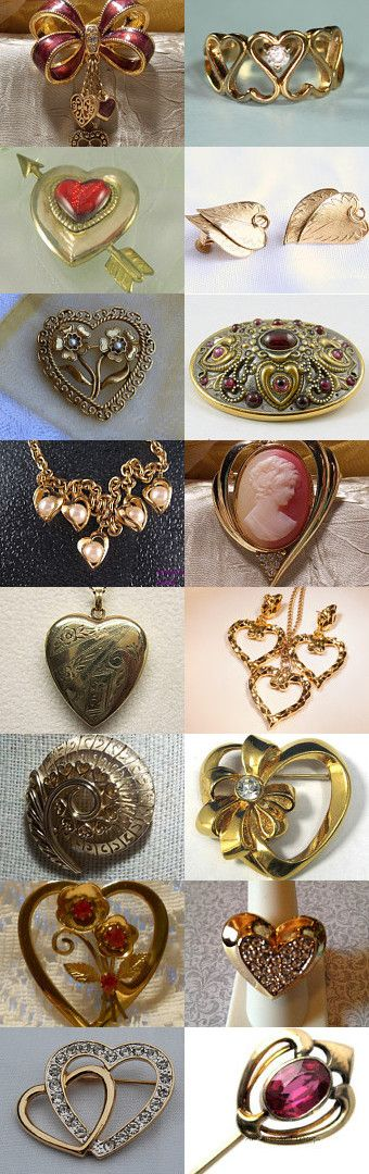 GVS Team Hearts of Gold  by Melissa on Etsy--Pinned with TreasuryPin.com