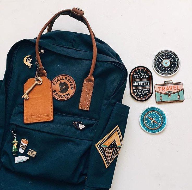 accessoires voyage Fjällräven Kånken Sacs sur Instagram: «Nous adorons voir vos badges sur notre #ka …