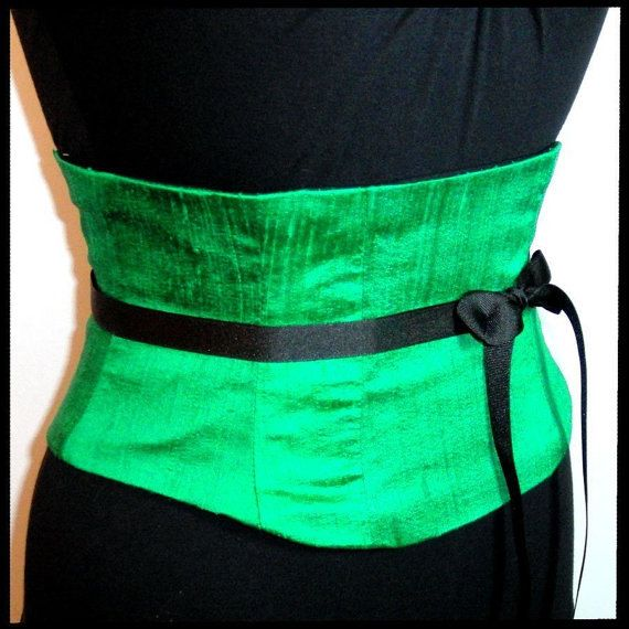 Hey, I found this really awesome Etsy listing at https://www.etsy.com/uk/listing/195819763/waist-cincher-corset-belt-emerald-green