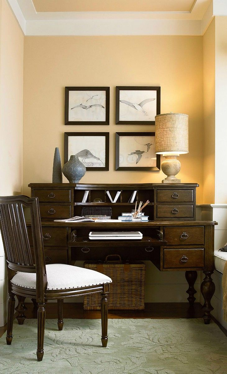 Home Office idea - this could be made at a larger or smaller scale too.