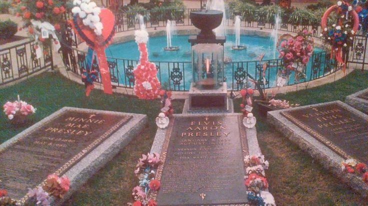 Meditationsgarten vom Graceland im Jahre 1983