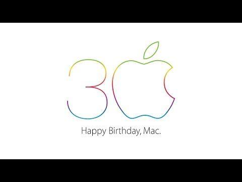 ▶ Apple - Mac 30 - Thirty years of innovation - YouTube