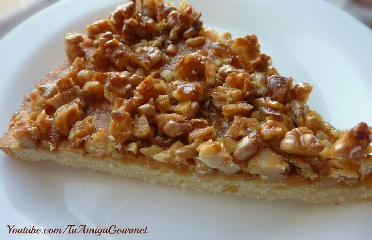 Kuchen de Nuez sin Gluten ni lácteos. Suave y delicado ¡Tienen que probarlo! Pincha en la imagen para ir a la receta. Recuerda darle un me gusta a nuestra página de Facebook https://www.facebook.com/tuamigagourmet #SinGluten #SinLacteos