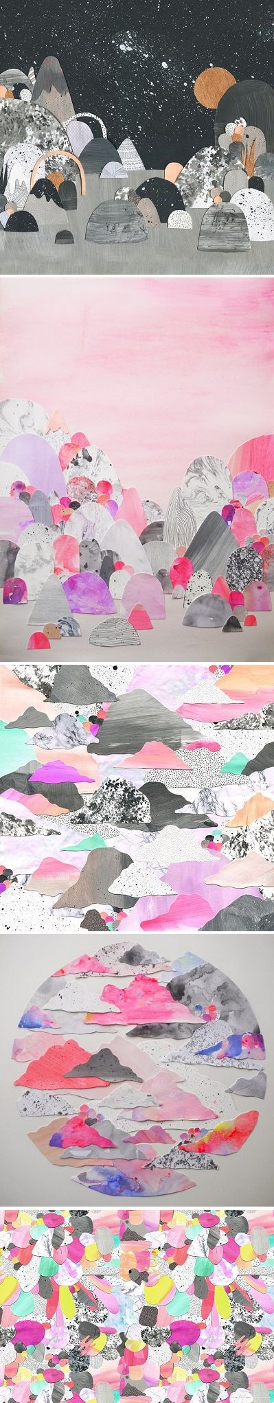 Collages by Laura Blythman / on the Blog!