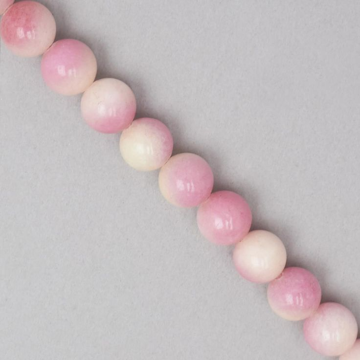 You will be unique with these beautiful Shaded Pink Colour Dyed Quartz Plain Rounds .