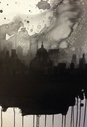 See the City by Starlight by Rebecca Hunter #switchoff #reduce #EarthHour #DotheGreenThing