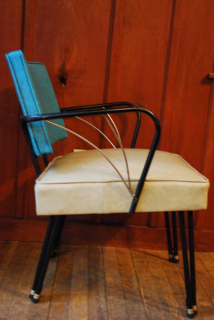 modern funky furniture. mcm metal atomic chair modern funky furniture