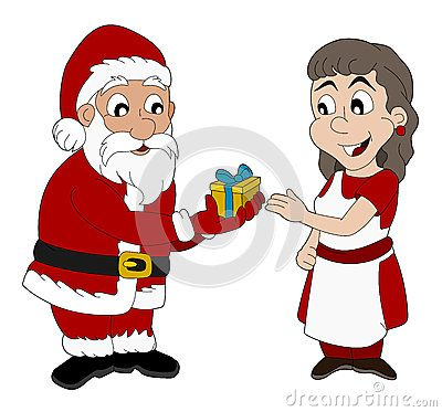 Download Cartoon Of Santa Claus And Mrs. Claus Stock Photography for free or as low as 4.22 Kč. New users enjoy 60% OFF. 20,076,916 high-resolution stock photos and vector illustrations. Image: 35302382