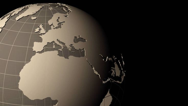 Particle sphere - HD stock video clip Earth \ Globe Pinterest - best of videohive world map earth zoom free download