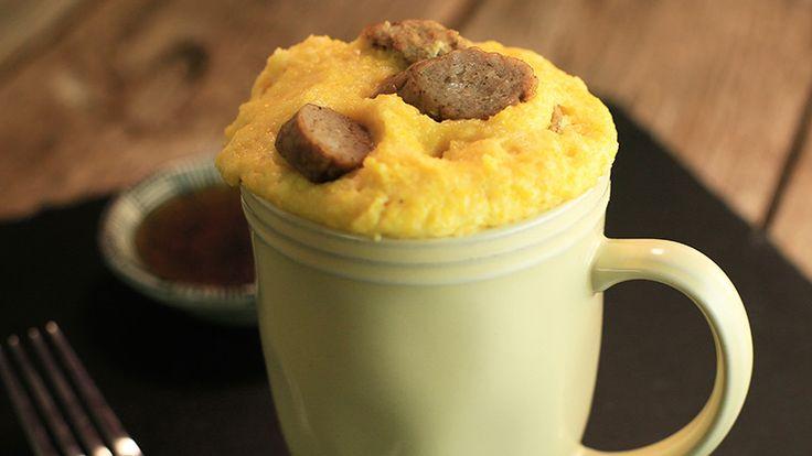 Sunny Anderson's Apple Dutch Baby Mug Pancake Recipe | Rachael Ray Show