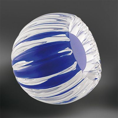 Brehat glass cabinet knob. The glass makers of Bréhat create unique decorative hardware and lighting with molten glass, gold and silver. #knob #glassknob #unique #decorative #hardware #cabinetknob #doorknob #luxury #luxurious #rich #luxuriousdesign #luxurioushome #luxuriousdetail #interiordesign #interior #design #luxurioushardware #luxuryhardware #motherofpearl #motherofpearlandsons