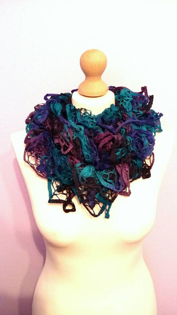 Girl of the sea / scarf /ready to ship / free by KaterinakiJewelry