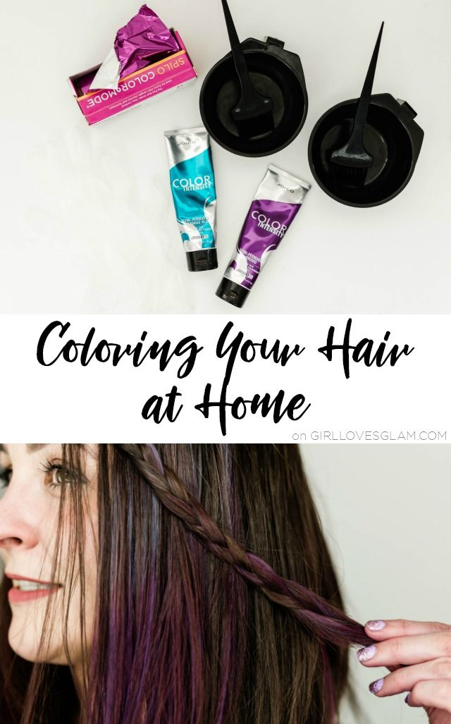 Home Hair Coloring Tips Girl Loves Glam In 2020 At Home Hair Color Hair Color Coloring Tips