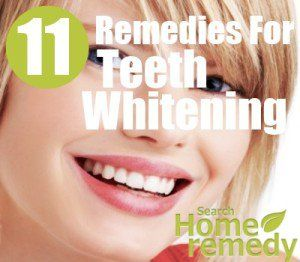 11 Home Remedies For Teeth Whitening