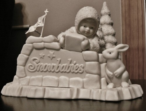 "Snowbabies Department 56 ""Where Did You Come From?"""