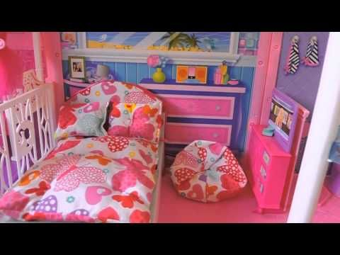 My barbie house tour 2015! - YouTube