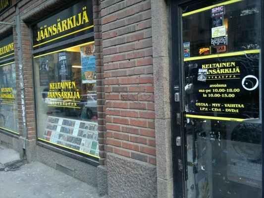 Keltainen Jäänsärkijä in Helsinki, Finland | 27 Breathtaking Record Stores You Have To Shop At Before You Die