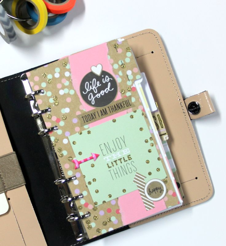 mambi adorned planner inserts by Design Team member Candi Billman   me & my BIG ideas